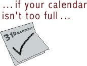 If your calendar isn't too full...